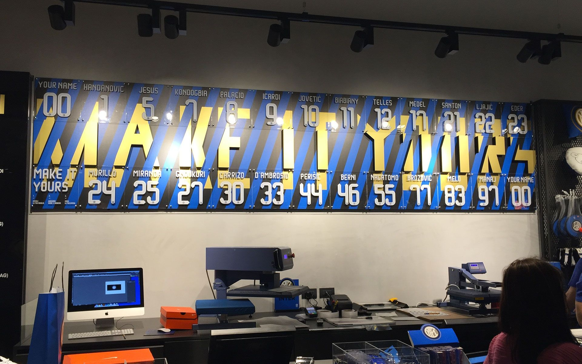 Inter Store 'Make It Yours'